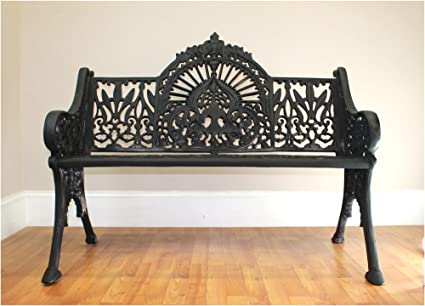 Terrific Amazon Com Antique Victorian Vintage Garden Bench Seat Gmtry Best Dining Table And Chair Ideas Images Gmtryco