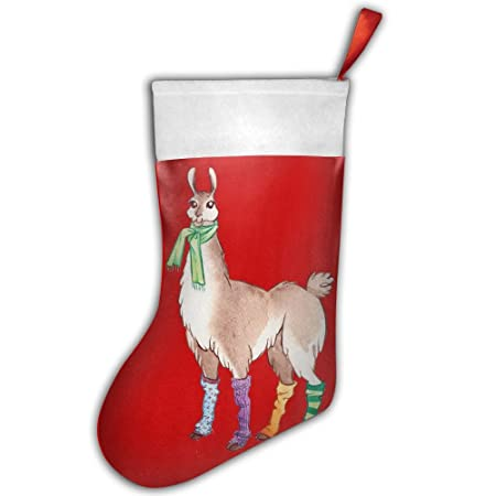 Llama Christmas Decorations.S2wind Llama Cute Happy Llamakkah Christmas Stocking Santa