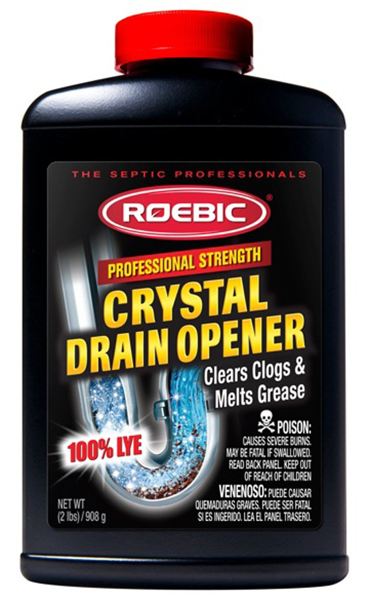 Roebic HD-CRY-DO 2-Pound Heavy Duty Crystal Drain Opener by Roebic