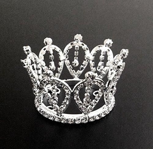 Exquisite Rhinestones Crystal Photo Prop Newborn Baby Tiara Crown T420