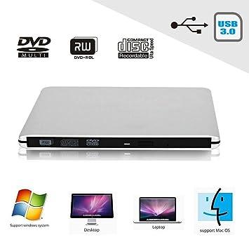 CDC® alta velocidad USB 3.0 Ultra Slim externo portátil Regrabadora de DVD \ \ Unidad