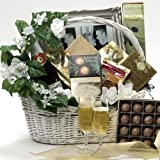 Art of Appreciation Gift Baskets Best Wishes to You Wedding Gourmet Food Gift Basket, Large (Candy)