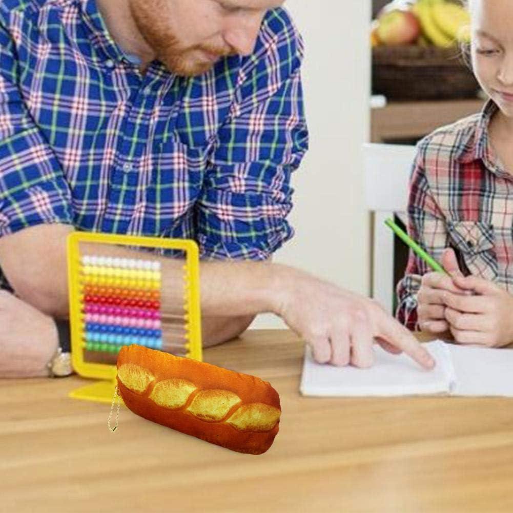 awhao Pain Trousse Crayon Grande Capacit/é Trousse Scolaire /Étui /à Crayons Original pour Enfant Adulte Ado Gar/çon Fille Ecole special