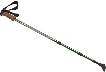 Telescopic Hiking Sticks 9 LED Lights Nordic Walking Ski Trekking Poles Hiking