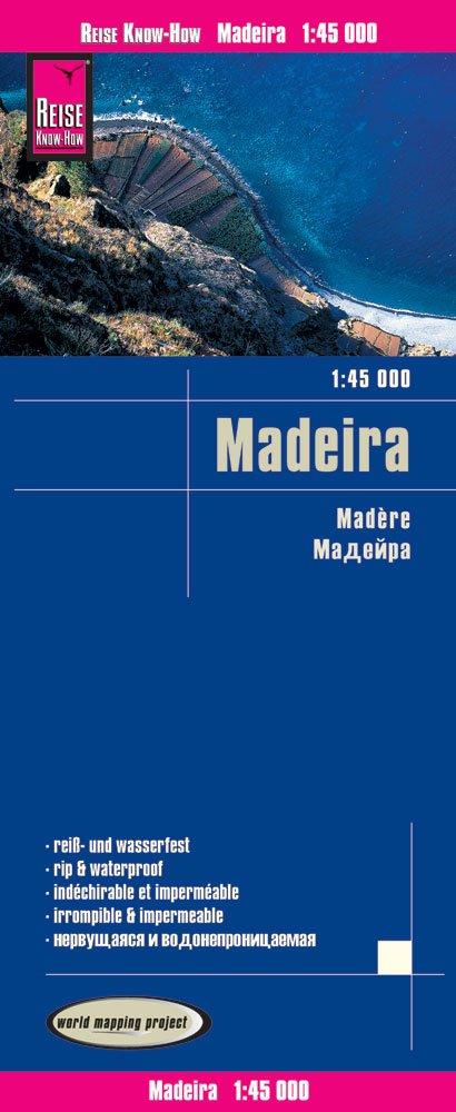 Reise Know-How Landkarte Madeira (1:45.000): world mapping project (Englisch) Landkarte – Folded Map, 2. Januar 2017 3831773491 Karten / Stadtpläne / Europa Gazetteers & Maps) Atlas