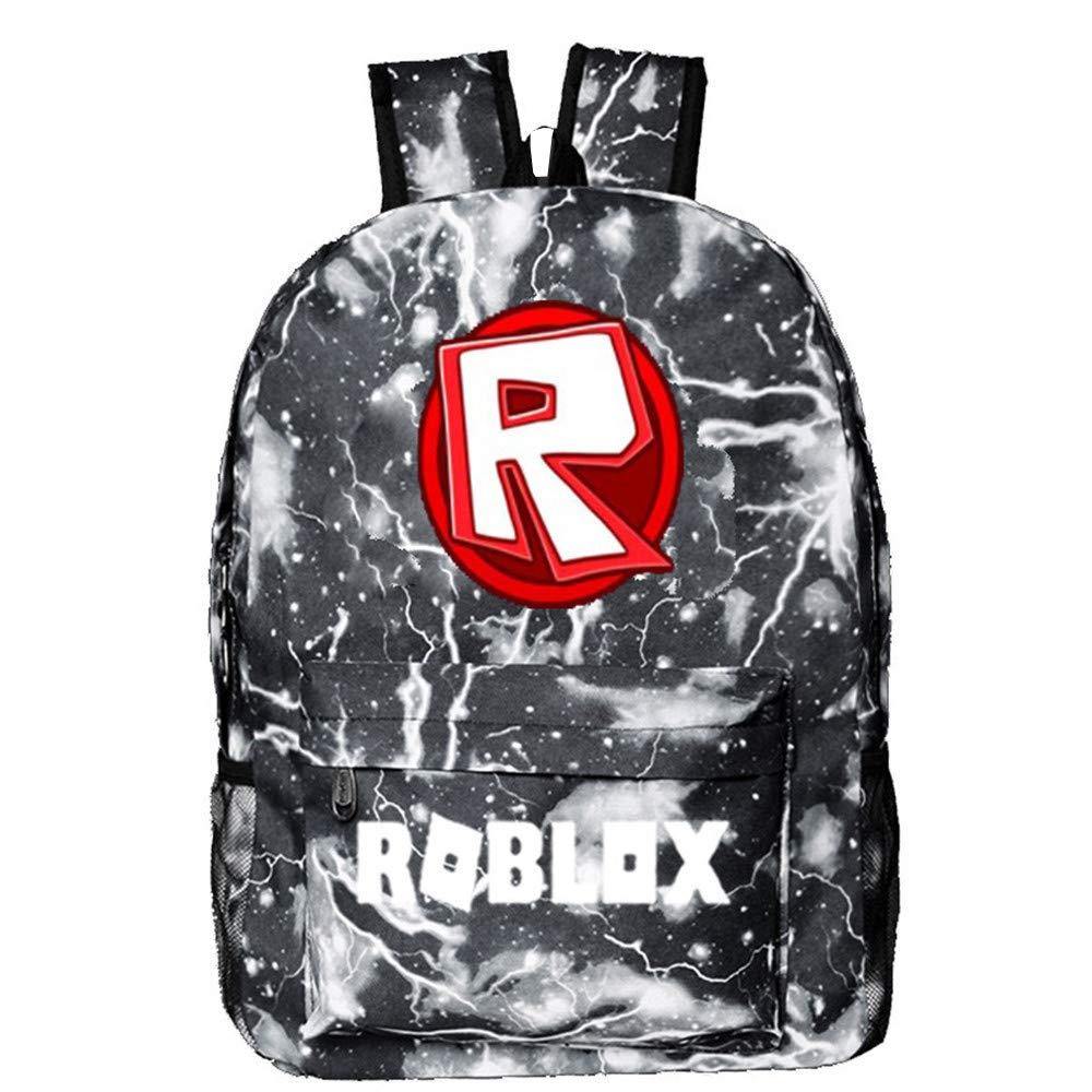 NINIUBAL Unisex Roblox Impresión Mochilas Mochila de Colegio Viaje Mochilas para Deportes y Aire Libre Mochilas Escolares