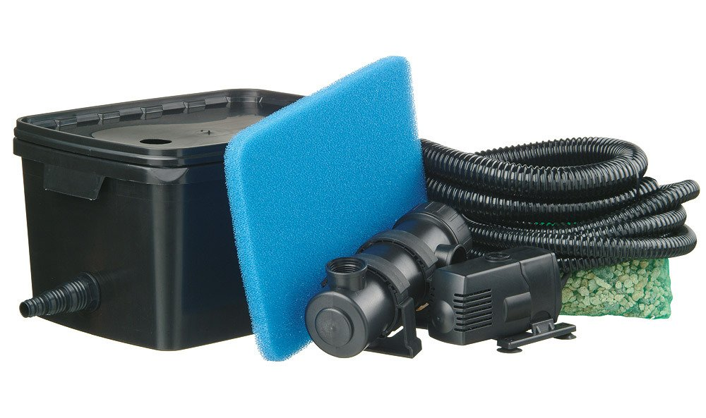 UBBINK Set: Teichfilter Filtra Pure 2000 Plus