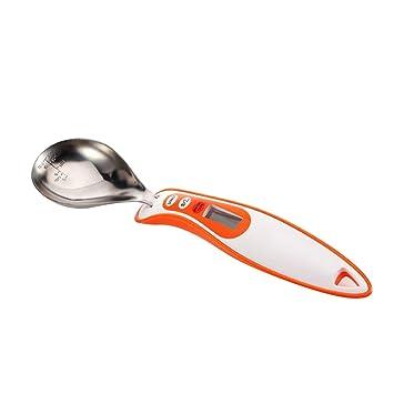 Cuchara medidora digital Stoga Smea STLL01 Cuchara electrónica digital de cocina con balanza (color naranja): Amazon.es: Electrónica