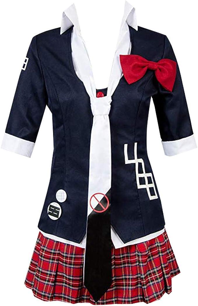 Uniform Danganronpa Junko Enoshima Cosplay Costume Dress Halloween US Free Ship