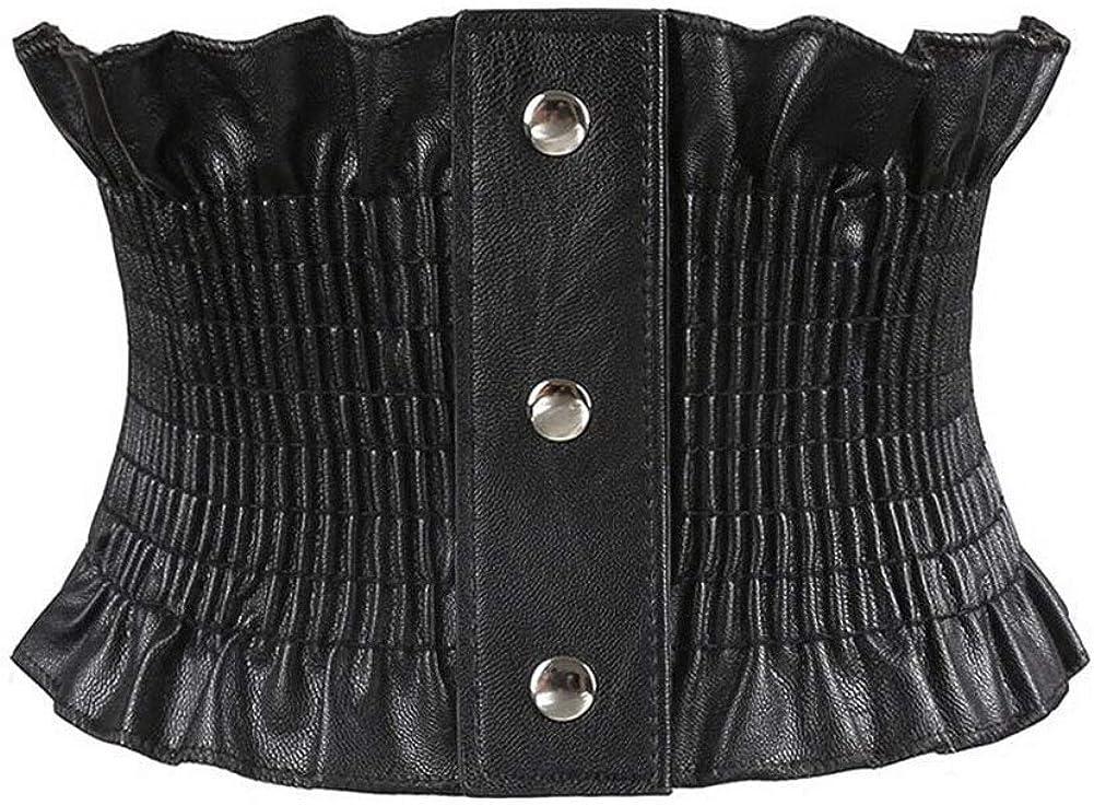 Oyccen Mujeres Cors/é El/ástico Correas de Cintura Ancha Cinturones El/ástica para Vestidos