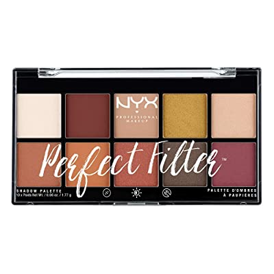 Buy NYX PROFESSIONAL MAKEUP perfect filter shadow palette, rustic