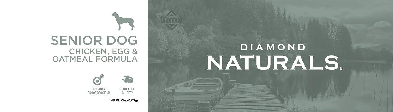 Amazon.com: Diamond Naturals Comida seca para perros adultos ...
