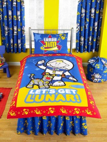Lunar Jim Single Duvet & Pillowcase ZAP