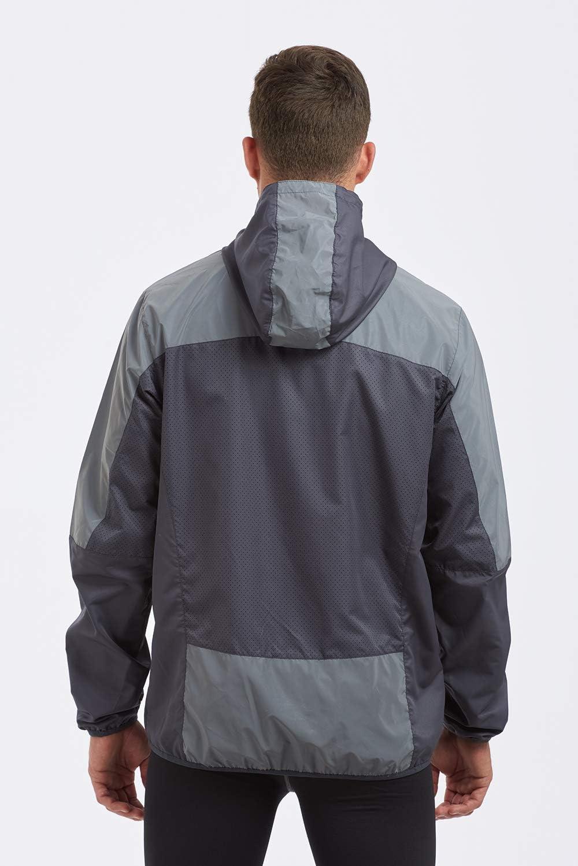 Time To Run Mens 2019 High Visibility Reflective Spirit Lightweight Running Jacket