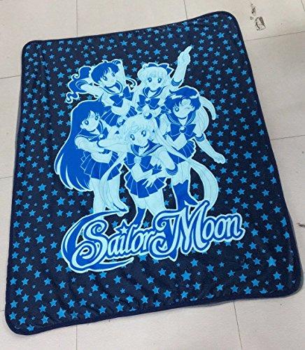 "Judy Dre am Sailor Moon CORAL FLEECE Throw Blanket 50"" X 60"" Polyester blanket"