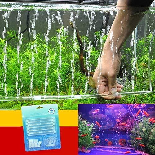 - Cocas Aquarium Fish Tank Supplies Transparent Plastic Bubble Wand Aquarium Aerator Fish Tank Bubbles Aquarium Bubble Stone Aerator - (Color:, Size: one Size)