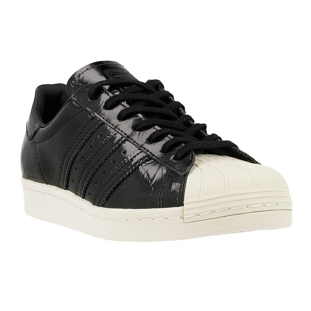 adidas Damen Superstar 80s Schuhe  42 EU|Black