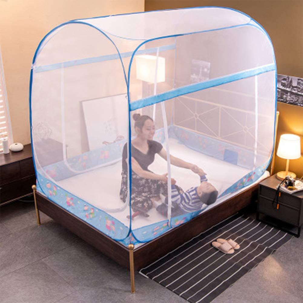 HEIFEN Mosquito Net Foldable Yurt Design Home Outdoor 360° to Prevent Mosquito Bites 120cm200cm by HEIFEN (Image #1)