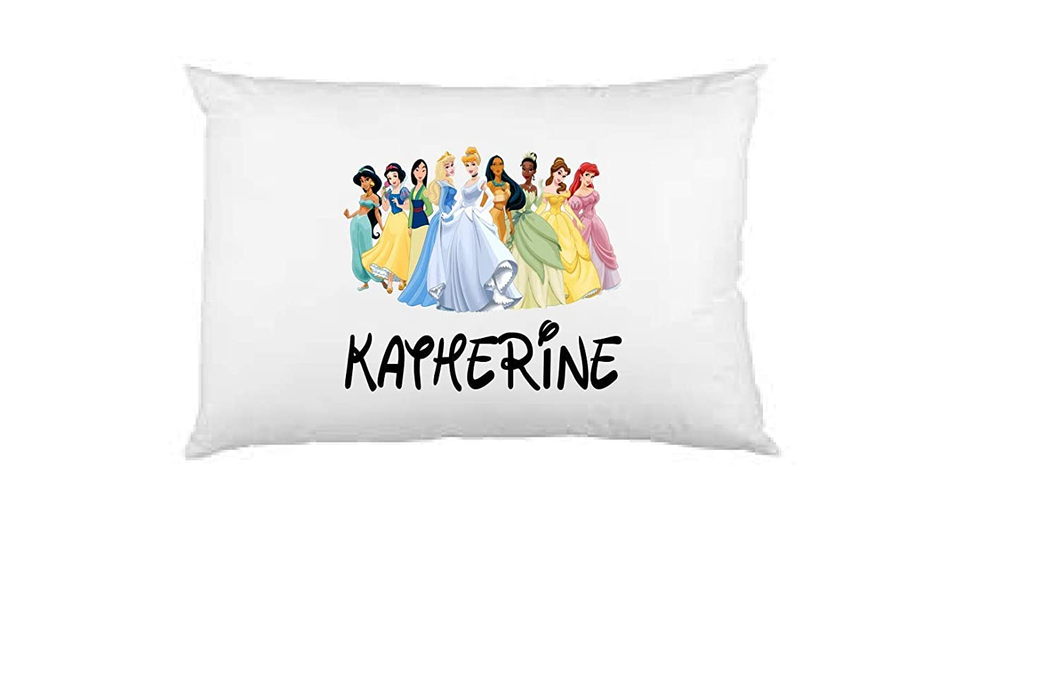 princess pillow case, personalized pillow case, birthday gift, Children's Pillow Case, Kid's Bedroom, Toddler Room, Baby Room, girl's bedroom Children's Pillow Case Kid's Bedroom girl's bedroom
