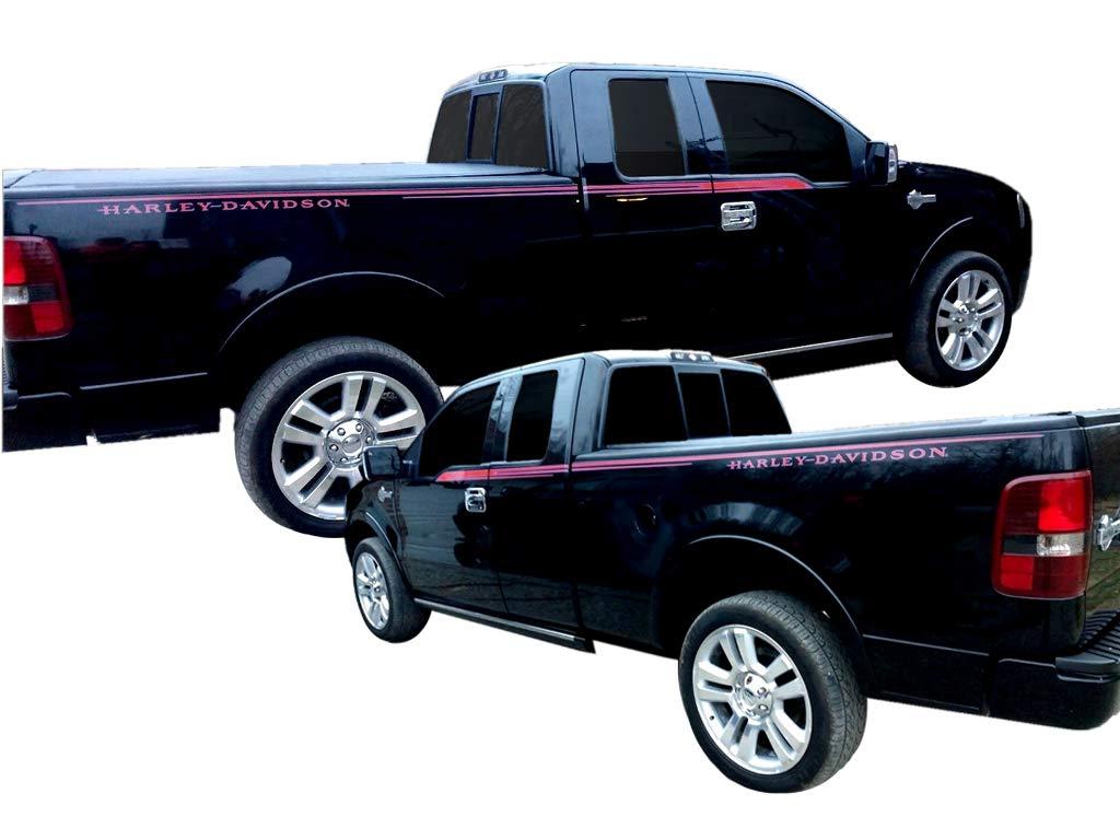 Amazon com phoenix graphix 2006 ford f 150 harley davidson edition truck decal stripe kit automotive