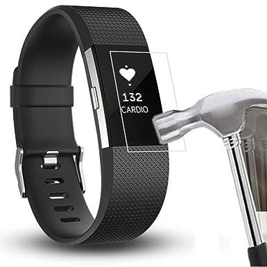 Para Fitbit cargador 2 Protector de pantalla, freshzone 1pc ...