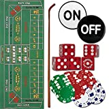#7: Trademark 10-3020-set Craps Set - All The Pieces To Play Now Craps Set, Multi