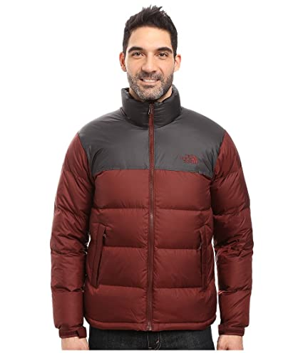 3e094ba93 Amazon.com: The North Face Men's Nuptse Jacket (X-Large, Sequoia Red ...