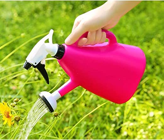 NIZHENDE Regadera De Plástico Familia Jardín Riego Presión Botella De Spray Planta Rociador Herramientas De Jardinería: Amazon.es: Hogar