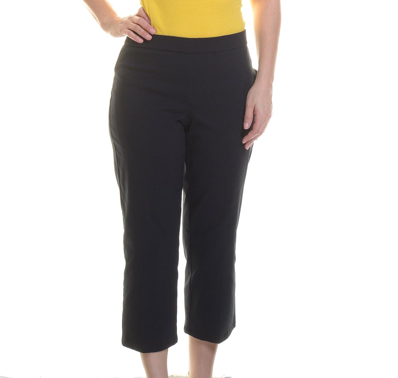 Style & Co. Womens Tummy Slimming Comfort Waist Capri Pants
