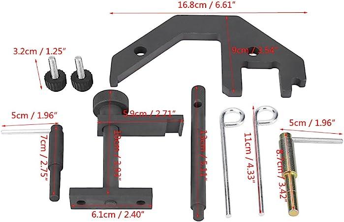 Zerone Einstellwerkzeug f/ür M4 E46 E39 E38,Kompletter Satz von Dampfkorrektur-Spezialwerkzeugen