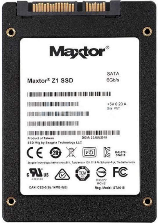 Seagate Maxtor Z1 Disco Duro sólido - 480 GB, SATA 6 GB/s, 2.5 ...