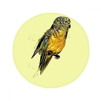 Amazon De Diythinker Yellow Budgie Papageien Vogel Anti Rutsch