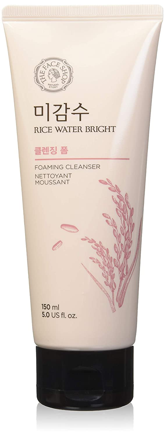 [The Face Shop] Rice Water Bright Cleansing Foam