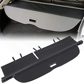 For Honda 2015-2019 Non Retractable Cargo Cover Shield Shade Tonneau Black