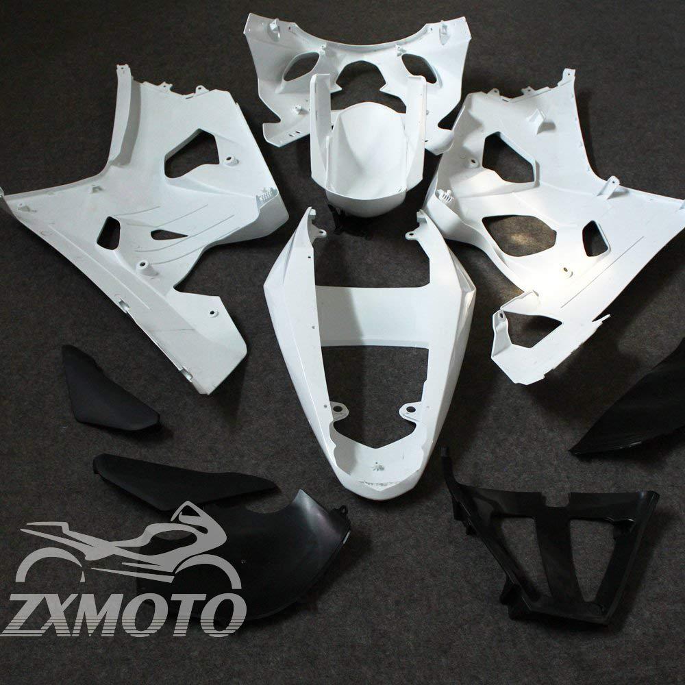 ZXMOTO Unpainted Fairings for Suzuki GSXR 600 2004 2005 2004-2005 GSXR 750