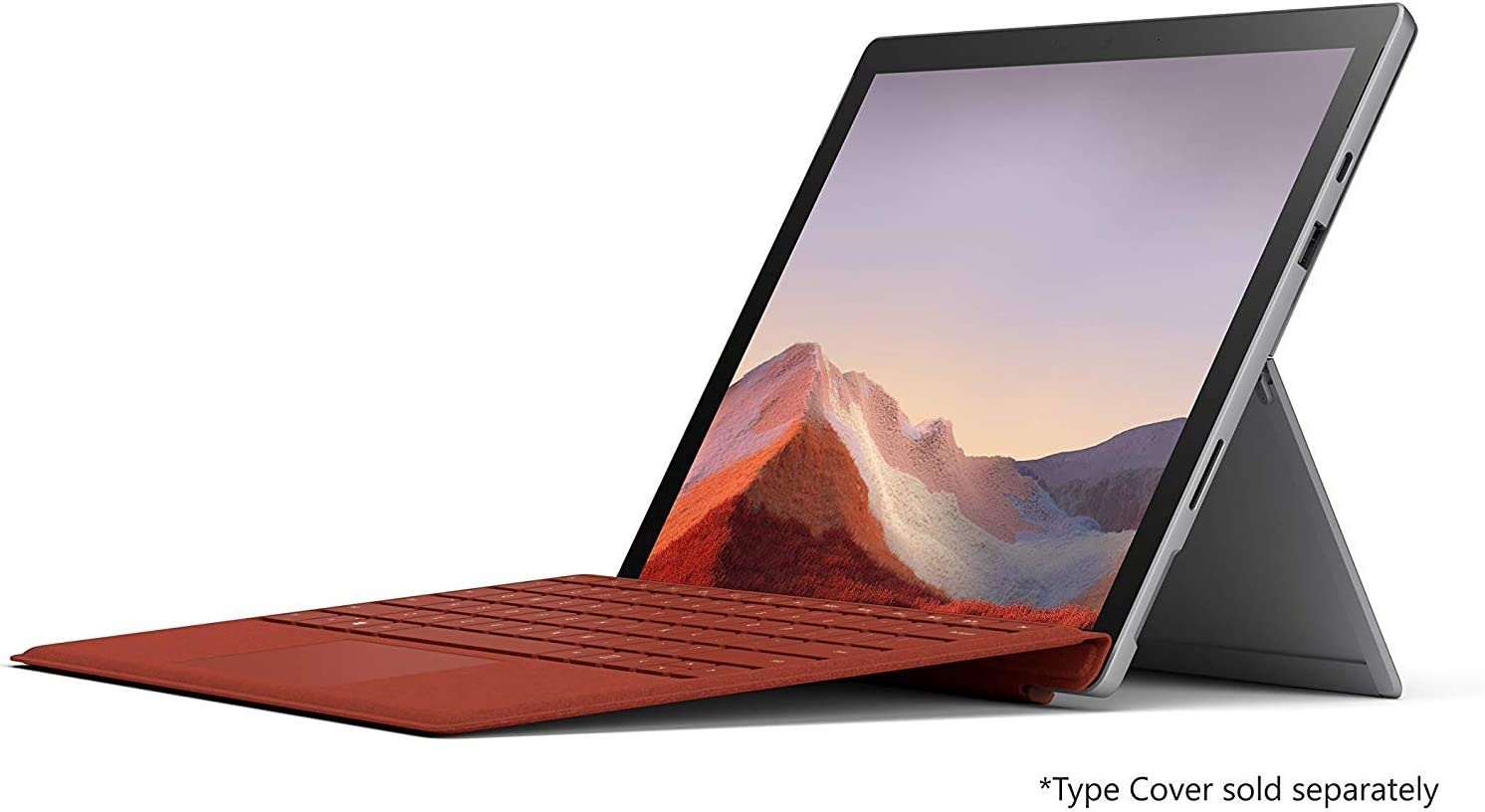 Microsoft Surface Pro 7 128GB i5 8GB RAM with Windows 10 Pro (Wi-Fi, Quad-Core i5-1035G4, Newest Version) Platinum PVQ-00001