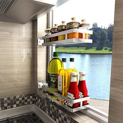 Amazon.com: Nan Liang - Estantes de cocina de acero ...