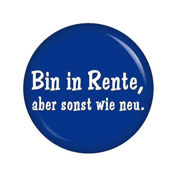 Kiwikatze Spruche Bin In Rente Aber Sonst Wie Neu 37mm Button