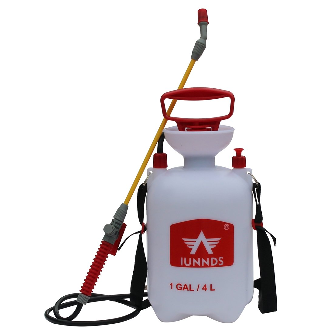 Sports God Lawn and Garden Pump Pressure Sprayer For Fertilizer, Herbicides, Pesticides, Mild Cleaning Solutions and Bleach