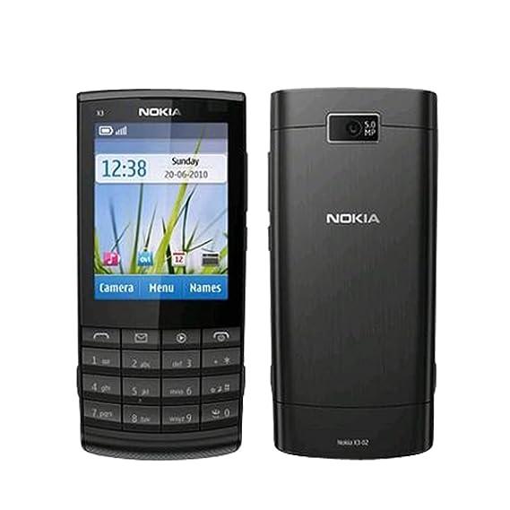 amazon com nokia x3 02 gray wifi touchscreen unlocked quadband 3g rh amazon com Nokia X3 Mobile Harga Bekas Nokia X3