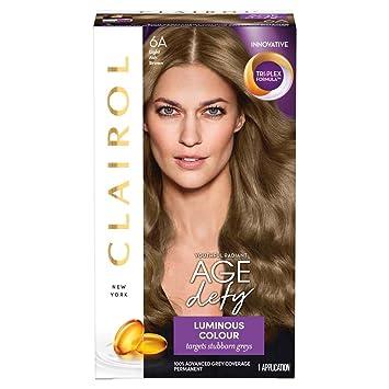 Clairol Age Defy Permanent Hair Dye 6A Light Ash Brown