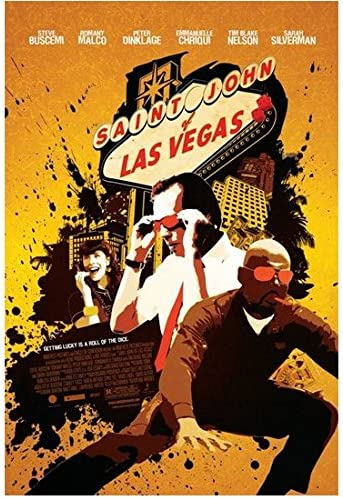 Saint John Of Las Vegas 2009 8 Inch X 10 Inch Photo Movie Poster Yellow Background Kn At Amazon S Entertainment Collectibles Store