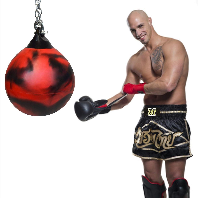 Bay Waterbag Aquabag Boxbirne mit Wasser gef/üllt 65 cm 80 Kilo Aqua Bag Water Punchingball Punching Ball Boxen