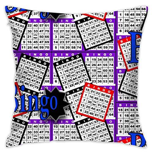 Towel&bag Bingo Cards Pillow Cover 18