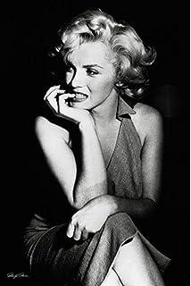 Pyramid America Marilyn Monroe Sitting Portrait Poster 24x36 inch