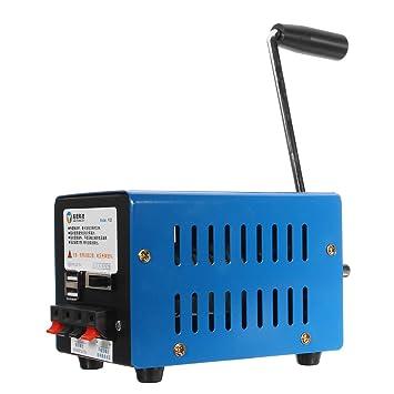 DyNamic Generador De Energía De Emergencia Protable Manual ...