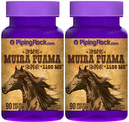 Muira Puama 1100 mg 180 Capsules
