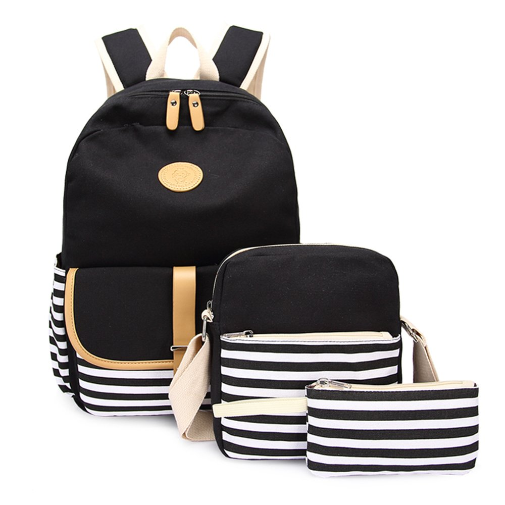 Lightweight Canvas Backpack Fashion School Bag Outdoor Travel Laptop Backpacks