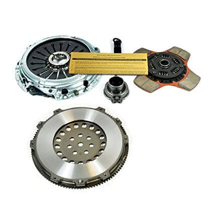 Amazon.com: EXEDY STAGE 2 CLUTCH KIT+CHROMOLY FLYWHEEL EVOLUTION EVO 4 5 6 7 8 9 TURBO 2.0L: Automotive