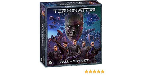 GENX Terminator Genisys: La Caida de Skynet - Expansión Juego de Mesa [Castellano]: Amazon.es: Juguetes y juegos